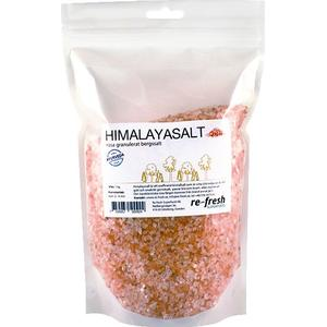 Re-fresh Superfood Himalayasalt rosa granulat, 1kg